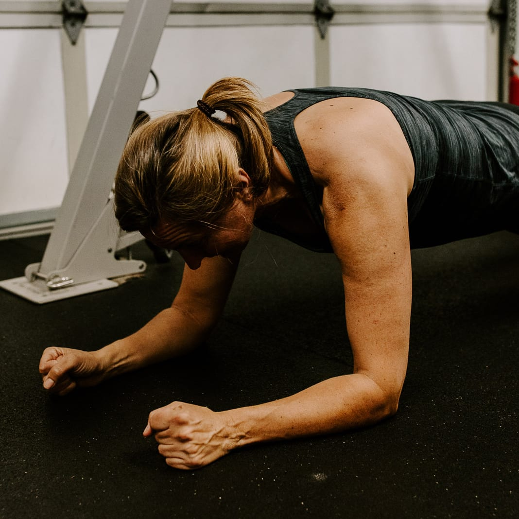 Planks use bodyweight to build strength safely